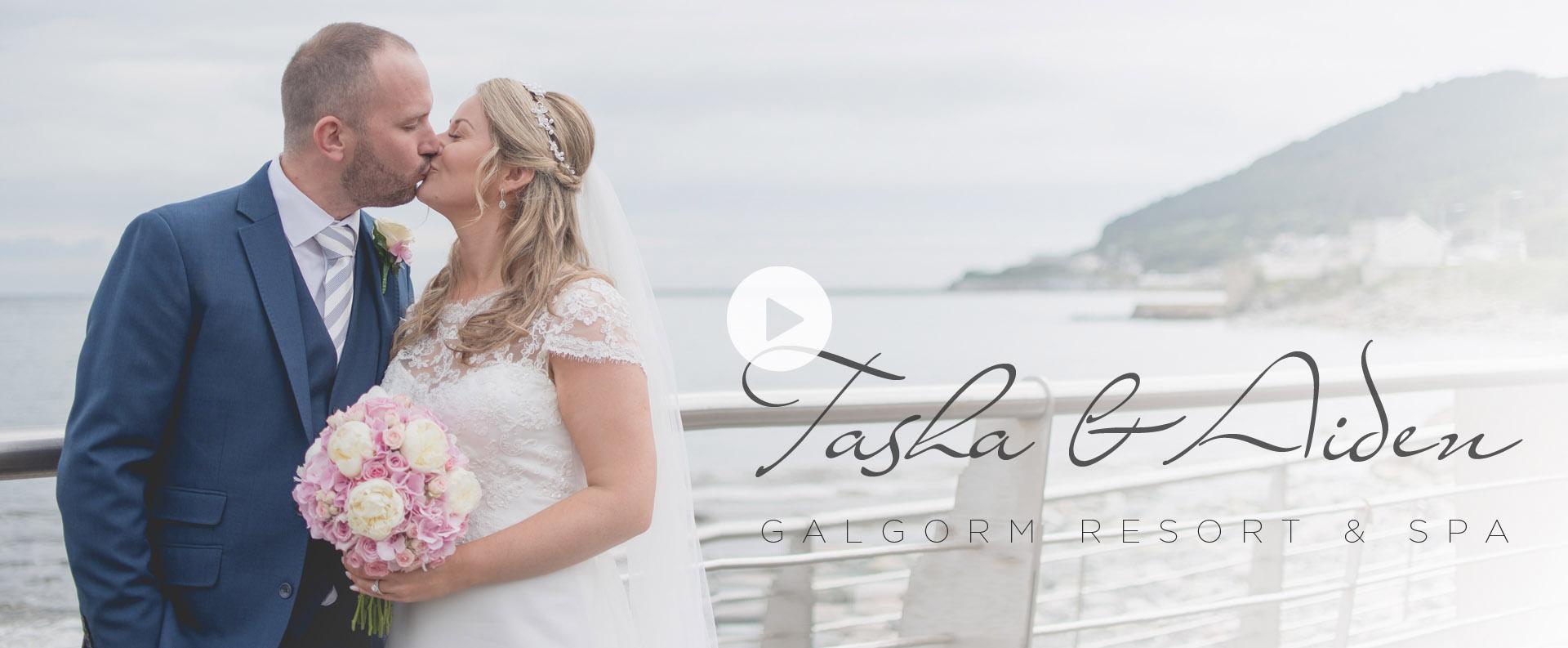 tasha & aidan - galgorm wedding video